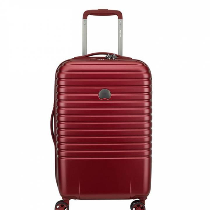 delsey caumartin plus trolley cabina 55 cm 002078801 burgundy
