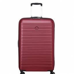 delsey segur valigia trolley 70 cm 002038820 rosso