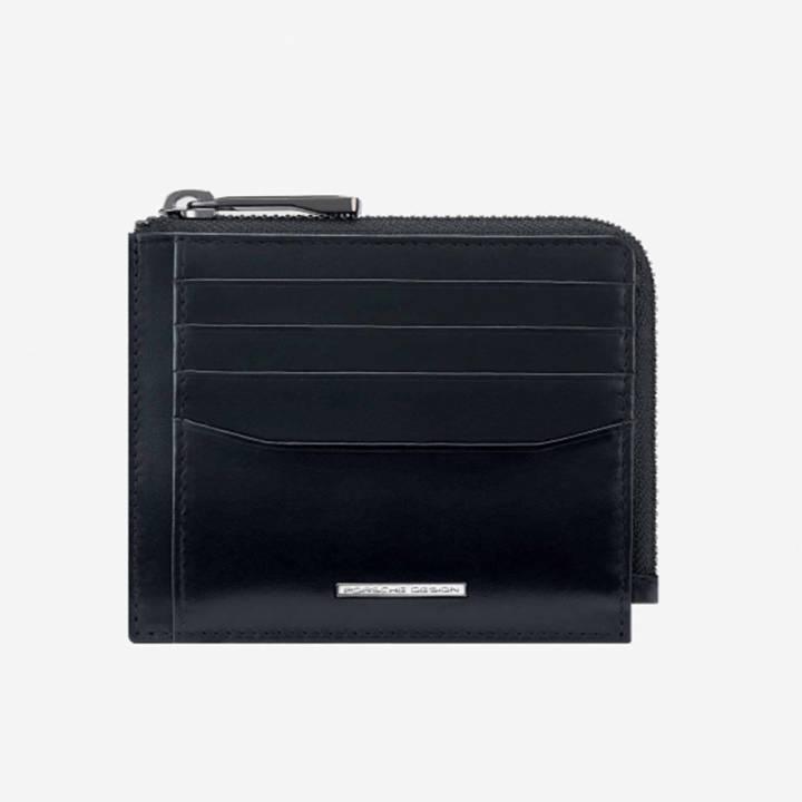 porsche design classic wallet 11 zip portacarte OBE09921
